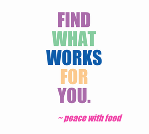 find what works
