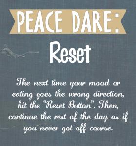 Peace Dare Reset