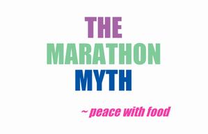 the marathon myth