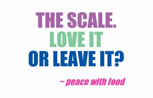 love it leave it scale
