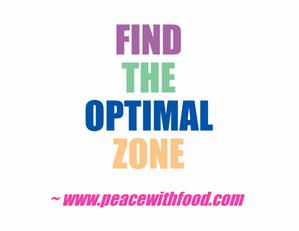 optimal zone