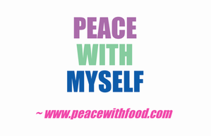 peace with myself
