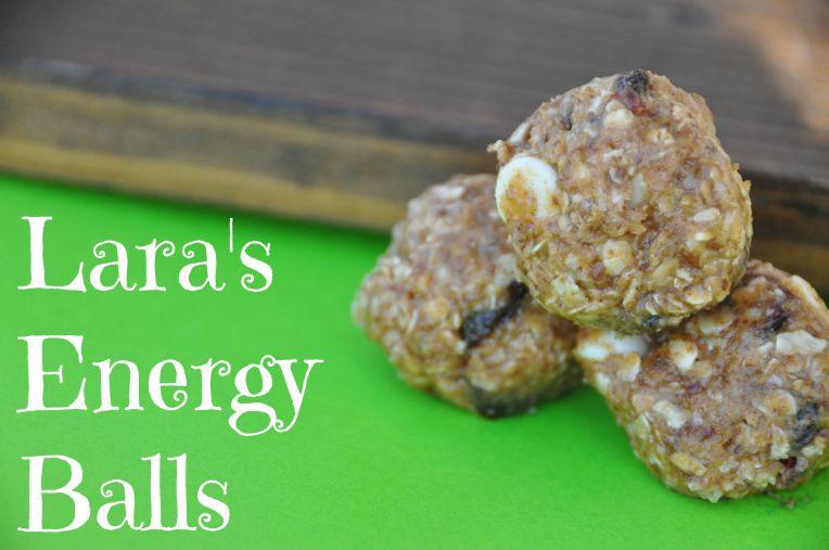 Lara's Energy Balls