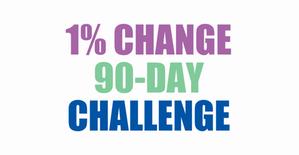 1% Change 90 Days